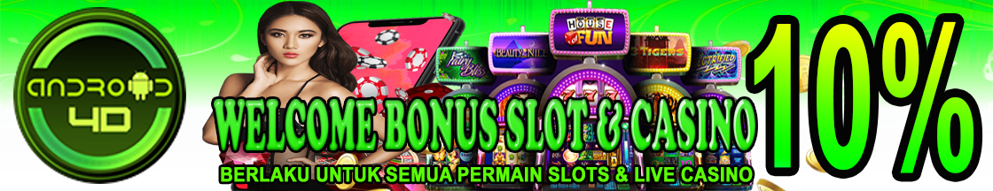 Bonus Welcome Slot  10%